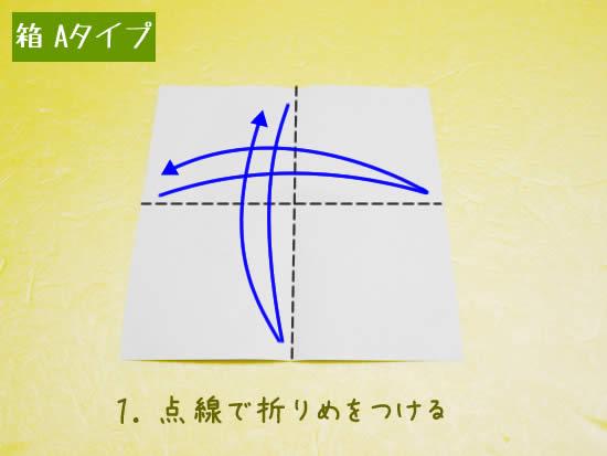 箱 Aタイプの折り方1