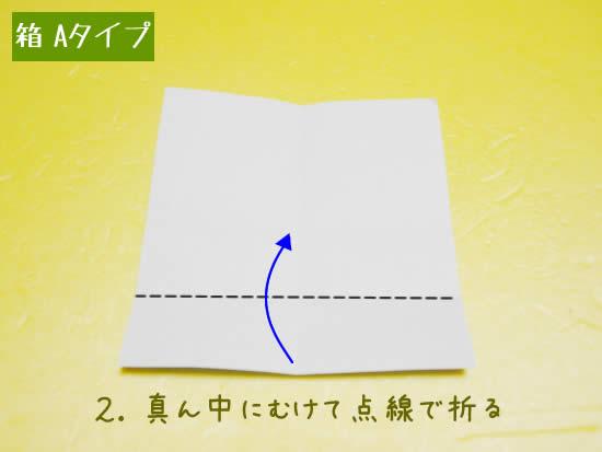 箱 Aタイプの折り方2