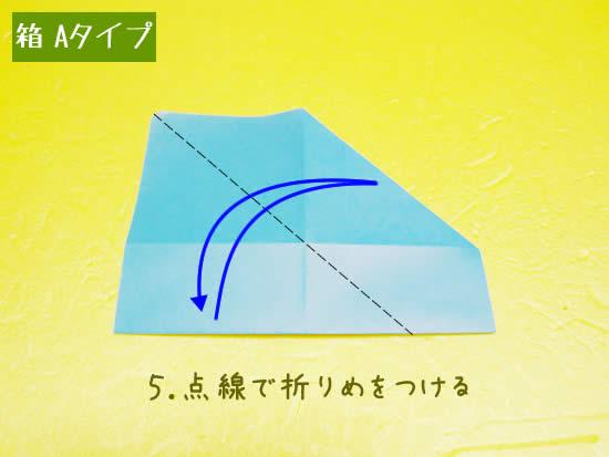 箱 Aタイプの折り方5