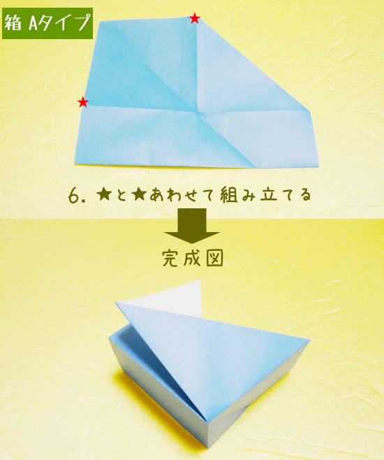 箱 Aタイプの折り方6