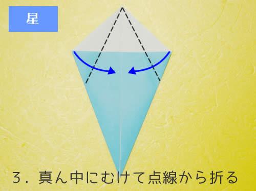 星の折り方3