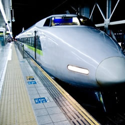 上越新幹線で東京駅へ