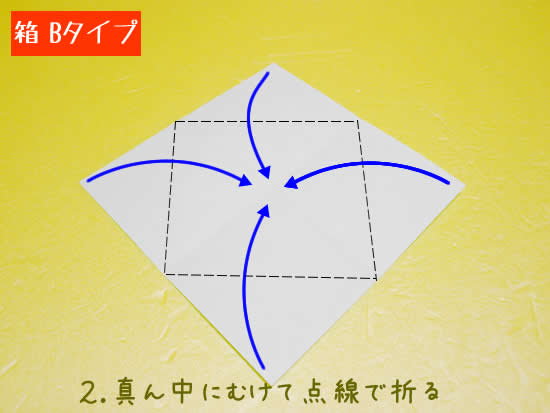 箱 Bタイプの折り方2