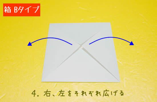 箱 Bタイプの折り方4