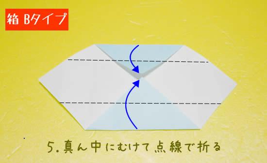 箱 Bタイプの折り方5